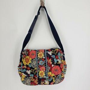 Vera Bradley Messenger Bag - Happy Snails